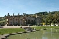 Weikersheim - hagen til slottet