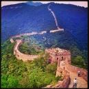 Kina- Den kinesiske muren - Mutianyu