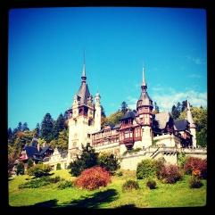 Romania - Sinaia - Pelisor slott
